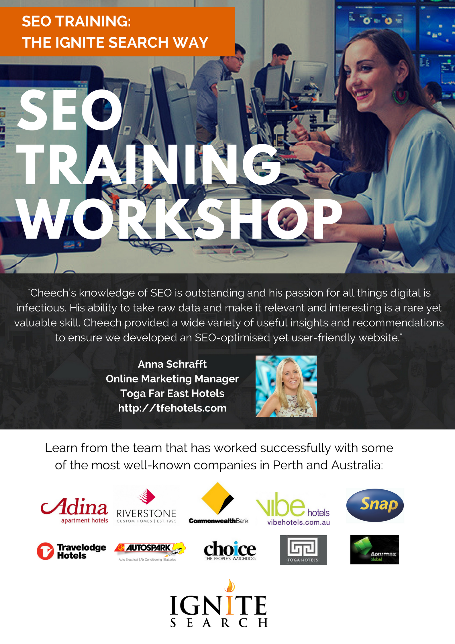seo training flyer - back page