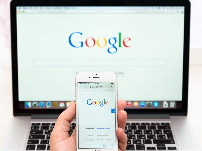 google launches experimental mobile search engine index