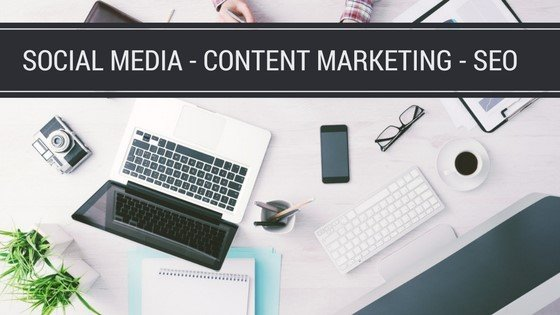 Social Media, Content Marketing & SEO