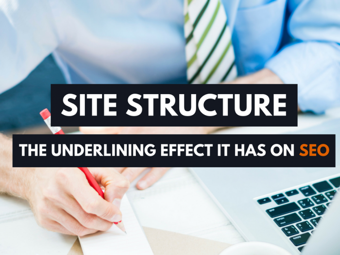 how seo affects stie structure