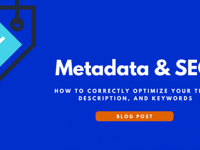 metdata and seo how to correctly optimize your title description and keywords