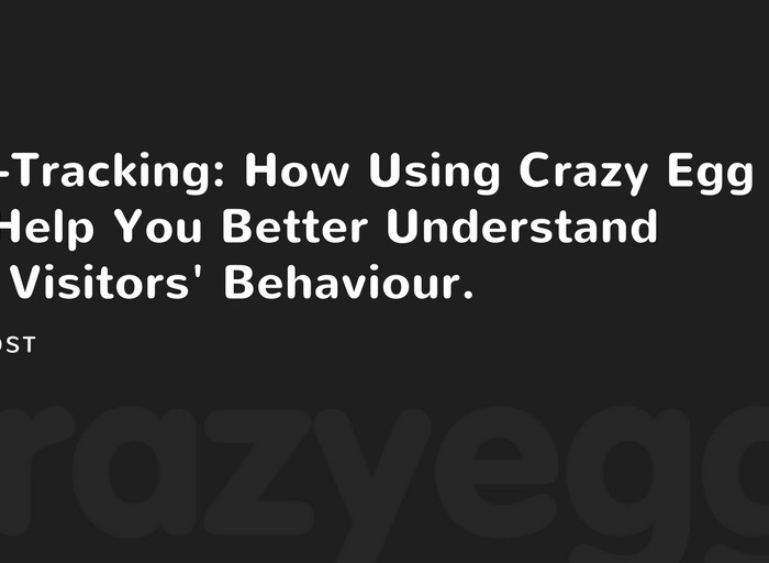 how using crazy egg can help you better understand your visitors behaviour